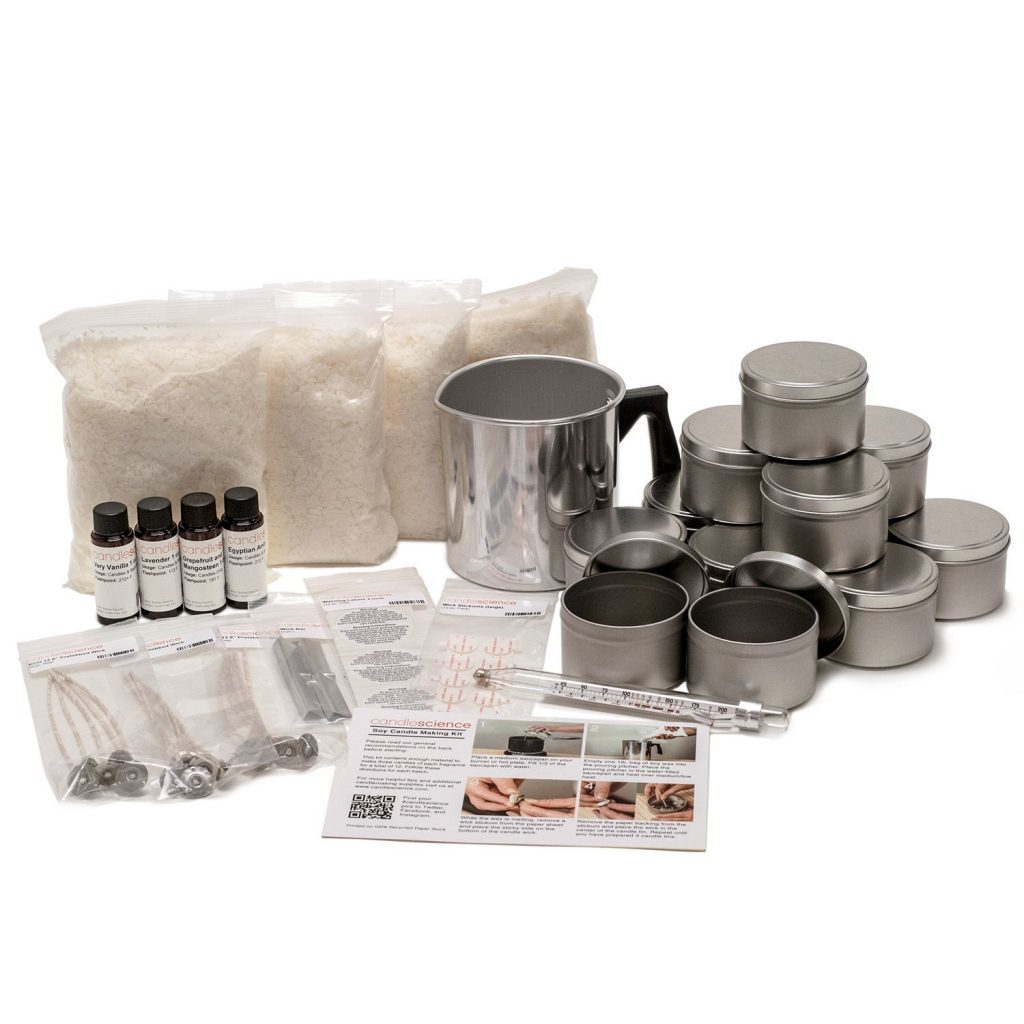 soy candle making set