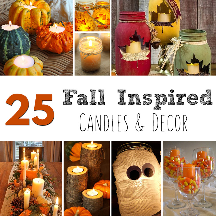 25 Fall Inspired Candles & Decor