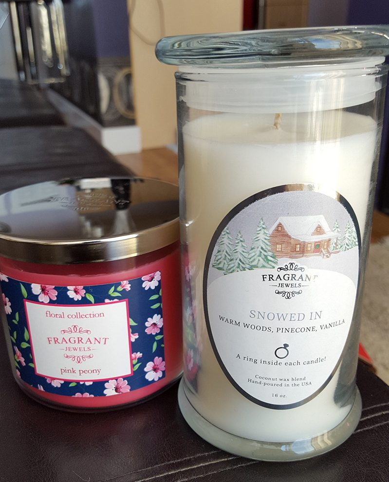Fragrant Jewels Jewelry Candle Review