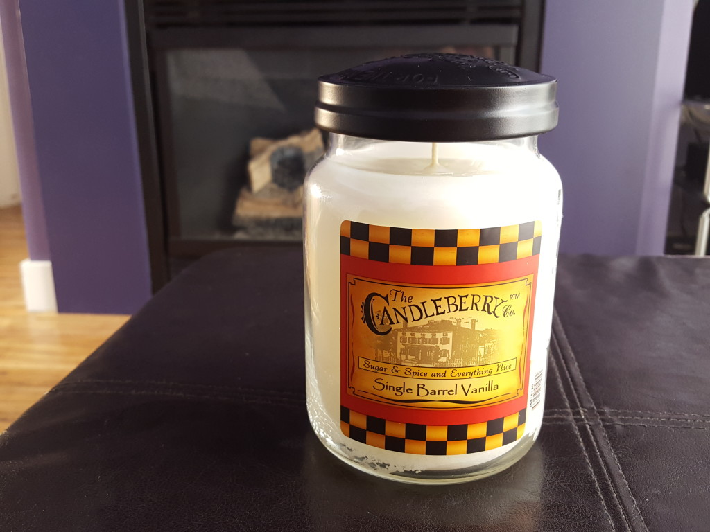 candleberry single barrel vanilla