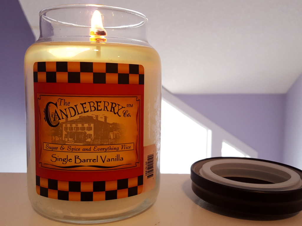 candleberry scented candle