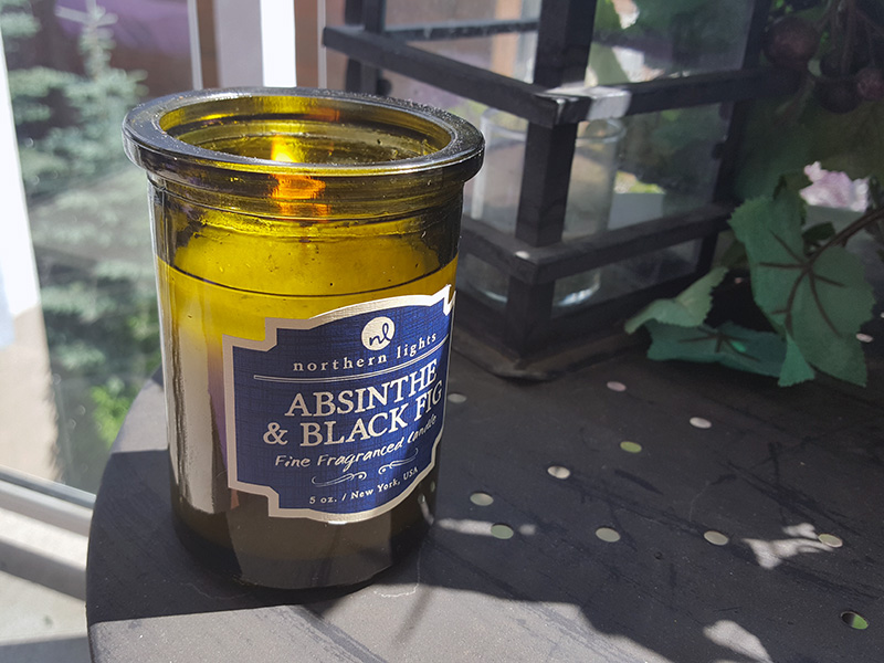 absinthe and fig candle