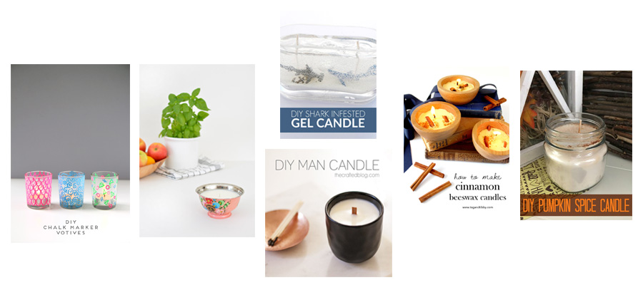 6 Sensational DIY Candle Ideas