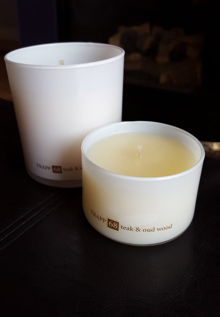 Trapp candles review tea & oud wood
