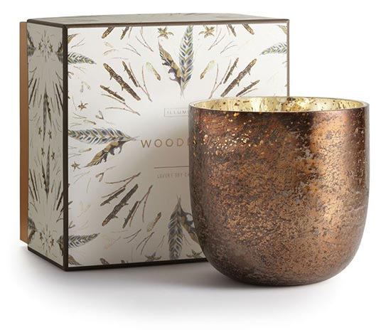 Illume Woodfire Soy Fall Candle