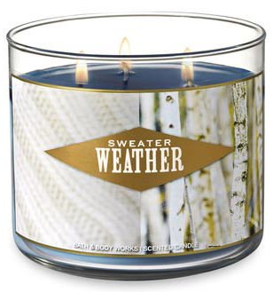 Bath and Body Works Sweater Weather Candle