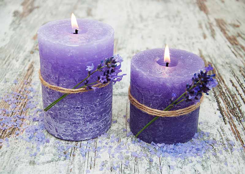lavender candles for sleep