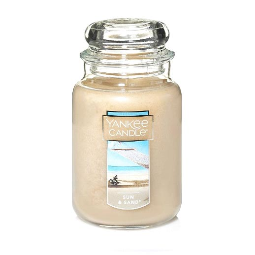 sun and sand yankee candle