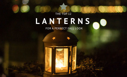 Top Lantern candle holders