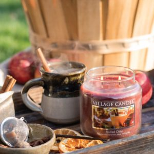 village candle mulled cider fall