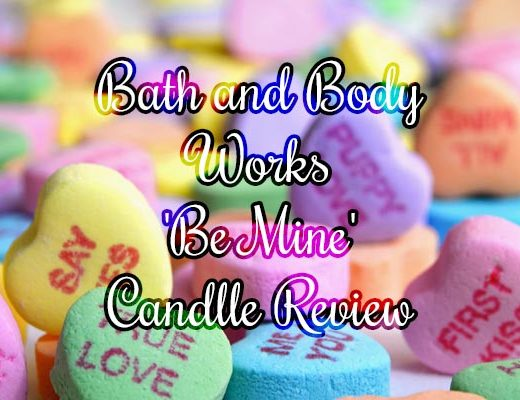 bath and body works be mine candy hearts candle review