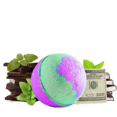 Cold Hard Cash Bath Bombs Peppermint Patty Scent