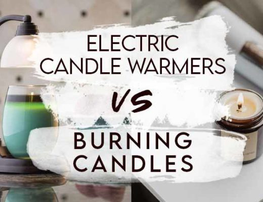 electric candle warmers vs burning candles