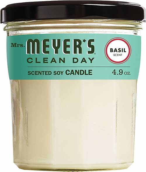 Mrs. Meyers Basil Candle
